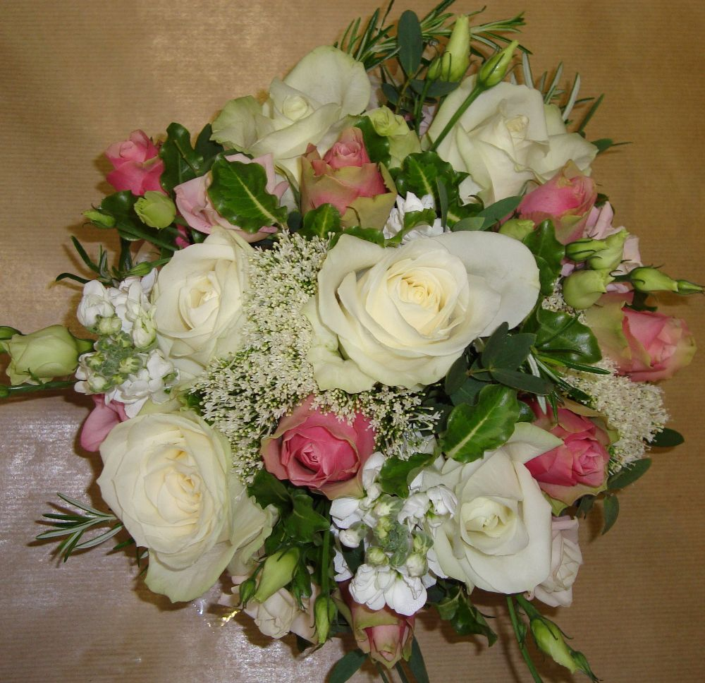 Brides handtied bouquet