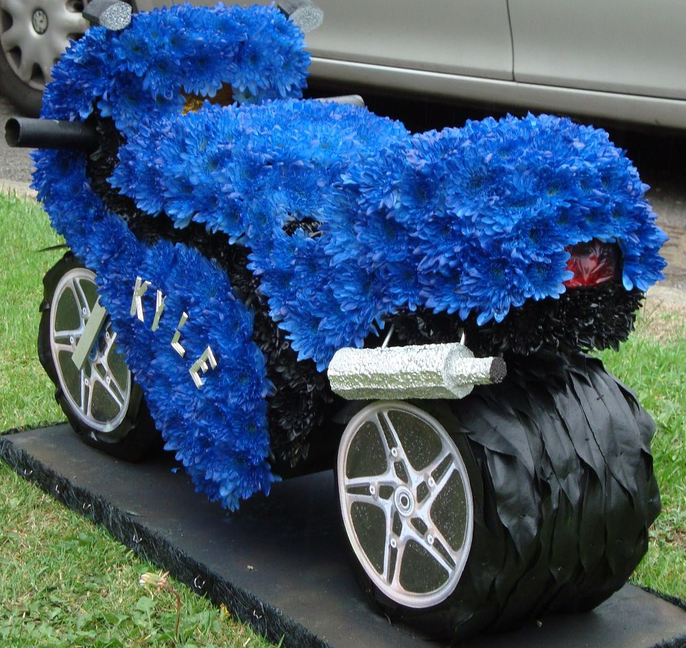 3d motorcycle tribute